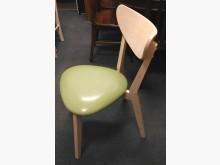 [全新] 月彎彎白橡餐椅 皮坐墊+實木椅架餐椅全新