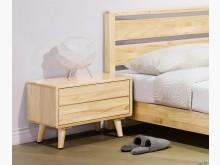 [全新] 丹麥原木全實木床頭櫃床頭櫃全新