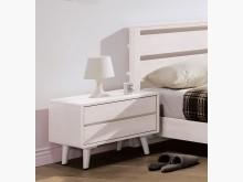[全新] 丹麥洗白全實木床頭櫃床頭櫃全新