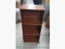 [8成新] B0320BJJ 木紋萬用三層櫃書櫃/書架有輕微破損
