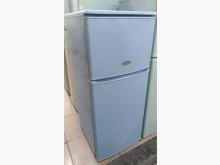 [9成新] 東元130公升雙門藍色冰箱冰箱無破損有使用痕跡