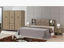 [全新] 凡爾賽5尺灰橡床頭片$4900雙人床架全新