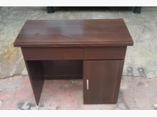 [8成新] e0401ij 胡桃色書桌書桌/椅有輕微破損