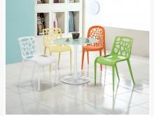[全新] 時尚傢俱-C全新}滴雕餐椅組塑餐椅全新