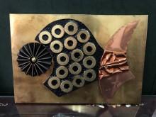 非凡二手3D立體浮雕抽象掛畫2壁紙/壁貼無破損有使用痕跡