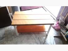 [全新] 再生傢俱~實木鐵座長凳或茶几茶几全新