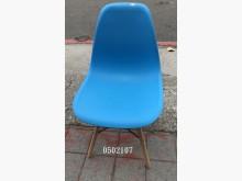 [全新] 0502107.藍色餐椅餐椅全新