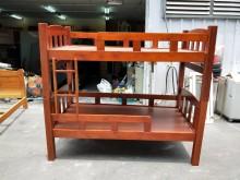 非凡二手 柚木實木3.5尺上下舖單人床架無破損有使用痕跡