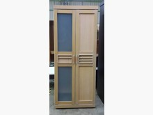 【172】B354二手米黃色衣櫃衣櫃/衣櫥有輕微破損