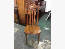 非凡二手家具 柚木實木高背餐椅餐椅無破損有使用痕跡