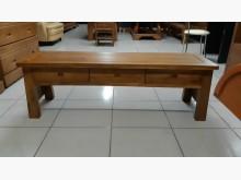 [全新] 工廠出清品柚木實木三抽長板凳沙發矮凳全新