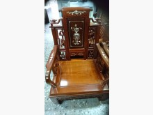 [8成新] 花梨客廳組10件椅子有輕微破損