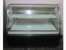 三合二手物流(金隔頂級5尺蛋糕櫃冰箱近乎全新