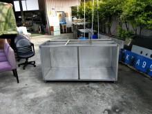 合運二手傢俱~白鐵食材置物架75其它廚房用品有輕微破損