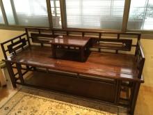 [8成新] 仿古早期羅漢椅椅子有輕微破損