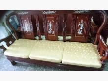 [9成新] 花梨木戰國椅10件客廳組椅子無破損有使用痕跡