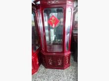 [9成新] 紅木螺鈿展示櫃x2櫥/櫃無破損有使用痕跡