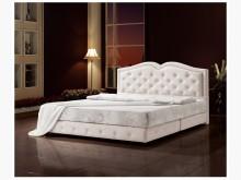 瑪格麗特白色5尺床台 桃園區免運雙人床架全新