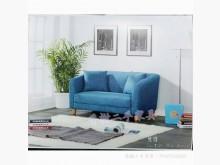 [全新] 全新精品 深湖藍二人座棉麻布沙發雙人沙發全新