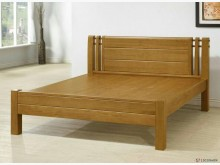[全新] 馬斯克6尺全實木床台雙人床架全新