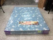[全新] 全新品標準雙人5尺一線鋼彈簧床墊雙人床墊全新