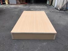 非凡 全新白橡木單人3.5尺床箱單人床架全新