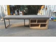 非凡鐵刀木色工業風系統中島會議桌會議桌無破損有使用痕跡