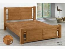 【台北二手家具】5*6全實木床組雙人床架全新