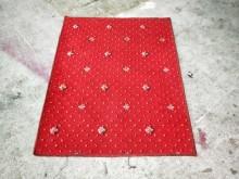 非凡二手3.2x2.5尺 紅地毯地毯/墊子無破損有使用痕跡
