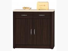 [全新] 喬納多 仿石面2.7尺餐櫃下座碗盤櫥櫃全新