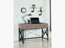 [全新] 時尚傢俱-B全新}4尺三抽書桌橡書桌/椅全新