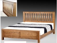 [全新] 梅根 3.5尺全實木床架單人床架全新