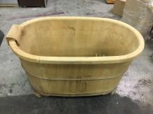 非凡二手家具 檜木 泡澡桶浴缸/木桶無破損有使用痕跡
