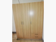 五呎大衣櫃衣櫃/衣櫥無破損有使用痕跡