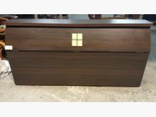 [8成新] B108AC 胡桃色床頭櫃床頭櫃有輕微破損
