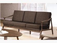 [全新] 傑瑞淺胡桃三人休閒椅多件沙發組全新