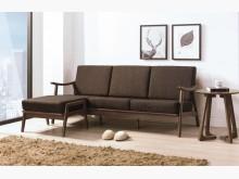 [全新] 格瑞淺胡桃L型布沙發L型沙發全新