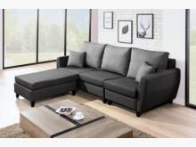 [全新] 布里安L型貓抓皮沙發L型沙發全新