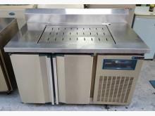 [9成新] 三合二手物流(白鐵工作台冰箱)冰箱無破損有使用痕跡