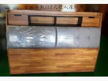 [全新] XY-DJH118奧斯汀5尺床頭床頭櫃全新