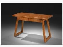 [全新] 潘蜜拉4尺厚板全實木書桌書桌/椅全新