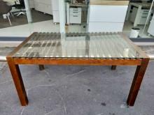 非凡二手家具 柚木3×5實木餐桌餐桌無破損有使用痕跡