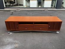 非凡二手家具 柚木七尺實木電視櫃電視櫃無破損有使用痕跡