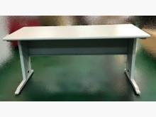 [9成新] D11773*白面CD辦公桌*辦公桌無破損有使用痕跡
