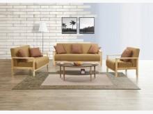 [全新] 沙寶米黃色布沙發組*不含茶几多件沙發組全新
