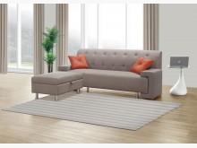 [全新] 奧舟棕色貓抓皮L型沙發L型沙發全新