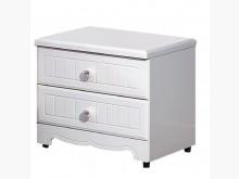 [全新] 瑪莎白色床頭櫃床頭櫃全新