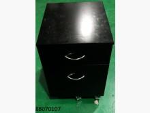 [全新] 88070107黑色二抽活動櫃辦公櫥櫃全新
