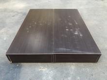 非凡 胡桃木 標準雙人5尺床箱雙人床架無破損有使用痕跡