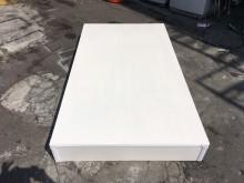 東鼎 全新品純白3.5尺單人床底單人床架全新